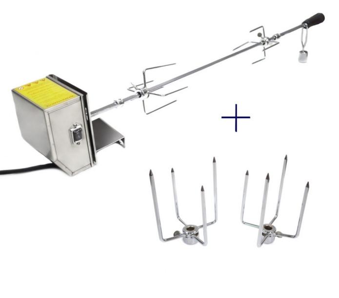 elektryczny rożen obrotowy do grilla